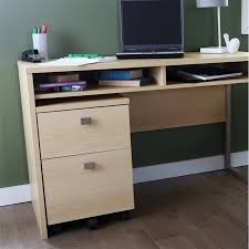 2 Drawer Rolling File Cabinet South Shore Interface 2 Drawer Mobile File Cabinet In Natural