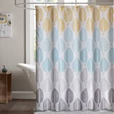 Yellow And White Shower Curtain Buy Yellow White Shower Curtains From Bed Bath Beyond