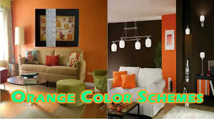 color schemes interior decorating with orange colors youtube