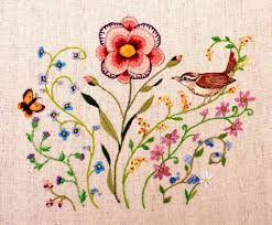 ribbon embroidery flower garden embroidered flowers you have to see to believe