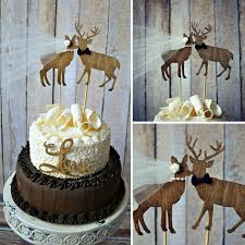 camo wedding cake toppers you had me at camo perfectly rustic buck doe wedding cake topper
