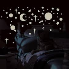 Bedroom Wall Stickers John Lewis Clouds Stars Sun And Moon Celestial Nursery Motifs View In Gallery
