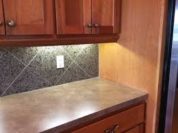 different countertops 2 different types of countertops in kitchen
