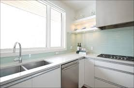 Blue Glass Kitchen Backsplash Kitchen Backsplash Ideas Blue Glass Backsplash Glass Subway Tile