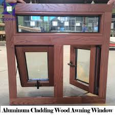 Wood Awning Design China Solid Wooden Window With Aluminum Cladding Awning Design 3d
