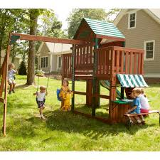 triyae com u003d backyard tuscan swing set various design
