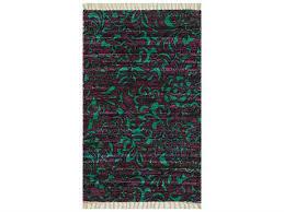 Purple And Turquoise Area Rug Purple Cotton Area Rugs Luxedecor