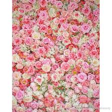 flower backdrop 5x7ft vinyl photography backdrops 3 d pink white flowers