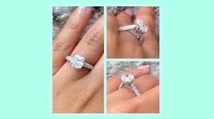 cushion cut engagement ring cushion cut engagement rings for every style