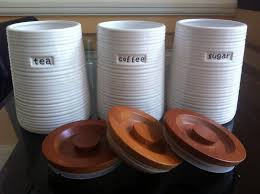 kitchen tea coffee sugar canisters ceramic retro tea coffee sugar canisters jars kitchen storage set