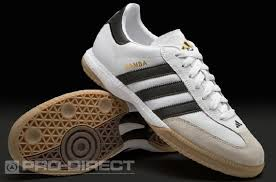 white samba adidas samba millenium soccer shoes white black