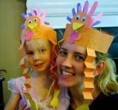 turkey headband templates thanksgiving