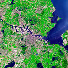 Map Of Amsterdam Amsterdam The Netherlands Image Of The Day