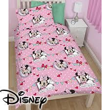 Postman Pat Duvet Set Buy Disney Minnie Mouse Single Duvet Set At Home Bargains