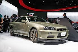 nissan skyline for sale in japan nissan displays godzilla u0027s family tree in new york motor trend