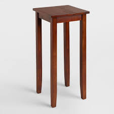 Wood Accent Table Tall Chloe Accent Table World Market