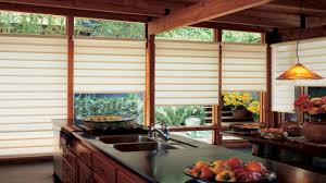 modern window treatments posh bright sun light trough inside room