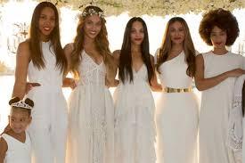 beyonce tina knowles richard lawson wedding day photos