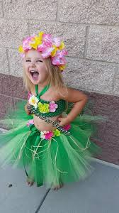 Hawaiian Halloween Costume Luau Tutu Hula Hawaiian Dress Hawaiian Birthday Party