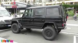 mercedes jeep black matte black 4x4 g class full offroad package mercedes benz
