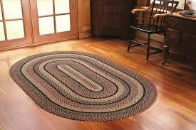 Large Jute Area Rugs Decorating Charming Multicolor Braided Rugs In Big Sized For