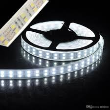 led light strip waterproof led strip light 5050smd double row 600leds 5m dc12v waterproof