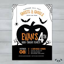 creepy cobwebs halloween invitation halloween invitations