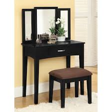 Corner Vanity Desk by Corner Vanity Makeup Table With Lights For Small Space And