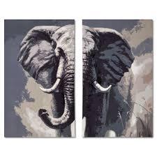 Home Decor Elephants Home Accessories Elephant 2 Pc Canvas Print Decor Pinterest