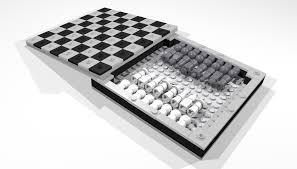 travel chess set images Lego ideas travel chess set