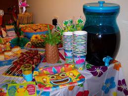 hawaiian party food ideas decorating of party