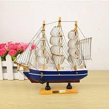 2018 mediterranean sailboat sailing ornaments home decorations