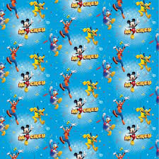 mickey mouse wrapping paper mickey mouse toyland inc