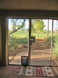 pet doors for sliding glass door sliding glass doors phoenix az repair or installation