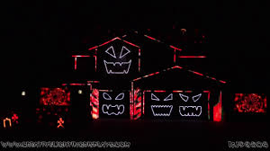 an incredible halloween light show perfectly synched to u0027highway