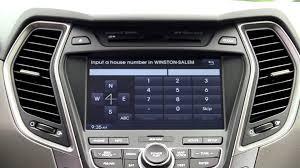 2013 hyundai santa fe navigation system winston salem high