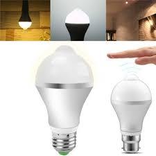 pir led light bulb e27 b22 5w 7w 9w pir infrared auto motion sensor led light l bulb