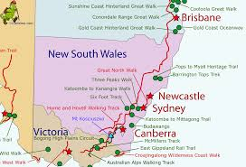 map of new south wales australia new south wales gif