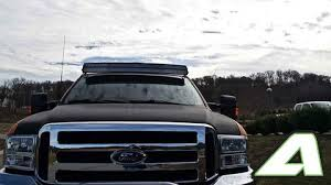 f250 led light bar led light bar roof mount double stack ford super duty f 250 f 350