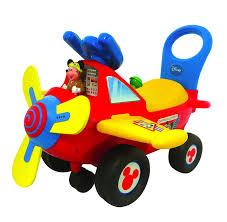 amazon com kiddieland disney mickey mouse clubhouse plane light