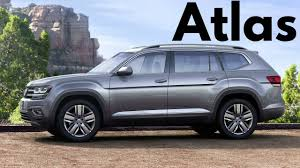 volkswagen atlas black wheels 2018 volkswagen atlas three row suv youtube