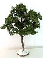 making and how to make model evergreen trees and miniature