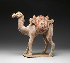 camel with packboards and baggage work of art heilbrunn