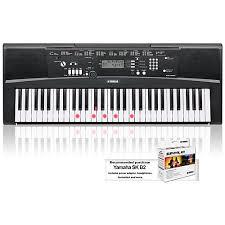 yamaha keyboard lighted keys yamaha ez 220 61 key lighted key portable keyboard musician s friend
