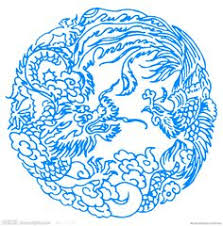 Chinese Art Design Chinese Paper Cut Zodiac Series Ox Ox People Are Down To