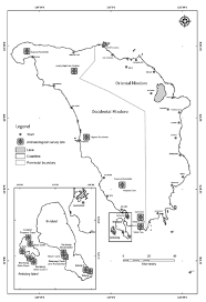 san jose mindoro map map of the islands of mindoro and ilin showing the that