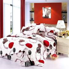 White And Red Comforter Red And White Duvet Covers Lovely Red White Comforter Sets In