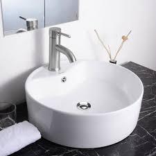 vessel sinks 51 unique round porcelain vessel sink photo design