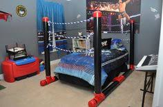 Wwe Bedroom Decor | wrestling ring bed can t let the boys see this lol ideas for my