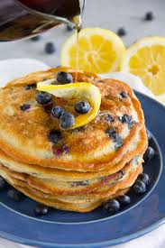 paleo lemon blueberry pancakes gluten free grain free say grace